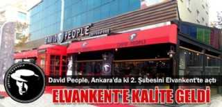 David People, Ankara-Elvankent'e Kalite Getirdi